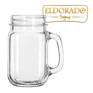 Befőttes üveg alakú limonádé pohár